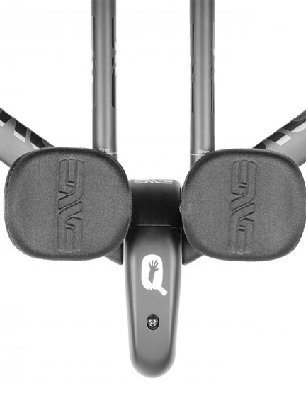 The SES base bar's extensions and pads allow for multiple configurations for the best fit