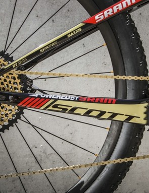 It's almost like SRAM made Eagle gold expecting this bike to get made