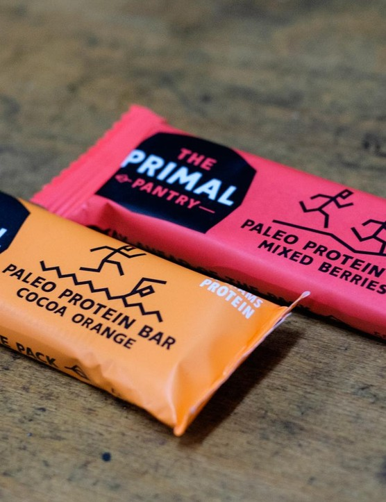 Primal Pantry bars – ideal for those on the paleo diet, or who love their cold-pressed snacks
