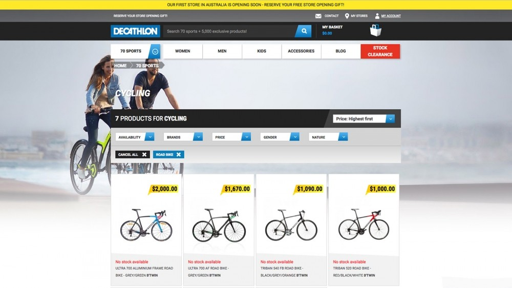 Decathlon is launching a retail presence in Australia