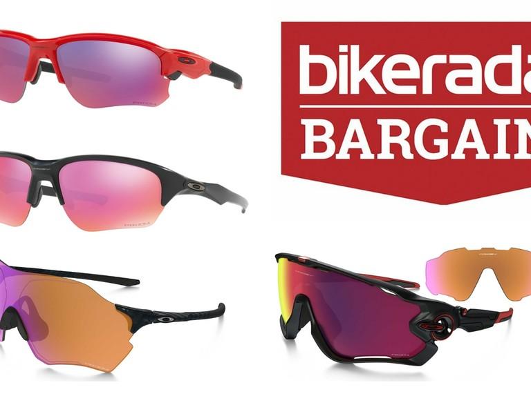 6cddd5175b5c 50% off Oakley sunglasses at Evans — Black Friday sunglasses deals -  BikeRadar