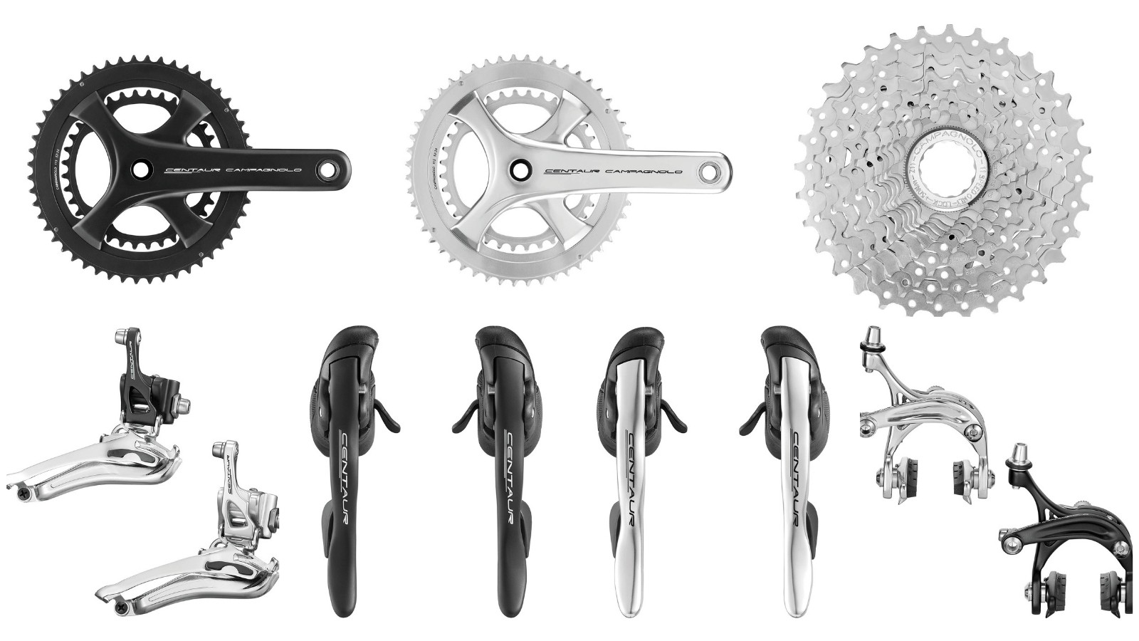 There's a whole bunch of Campag Centaur components on offer