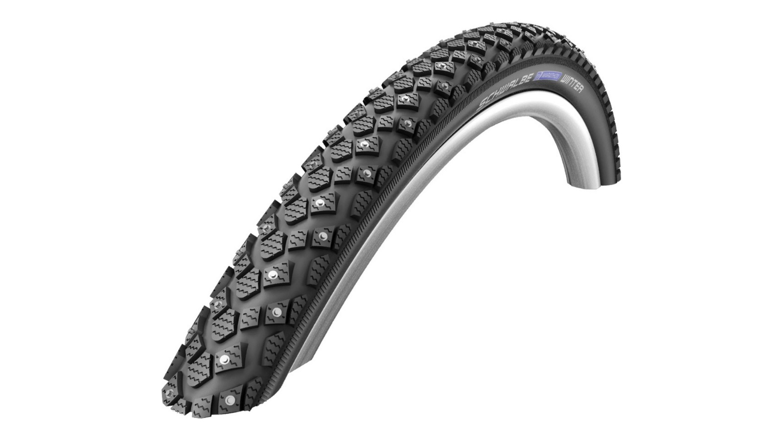 Grab a pair of studded Schwalbe Winter tyres for the price of one