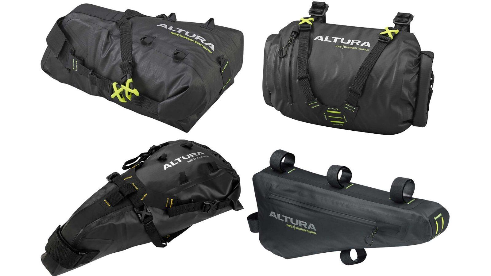 Altura Vortex 2 Waterproof Frame Bag Black