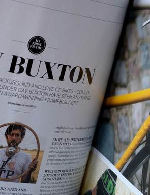 August Bicycles' Gav Buxton talks to us about his favourite bikes and what he did before he became a framebuilder
