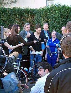 The media scrum