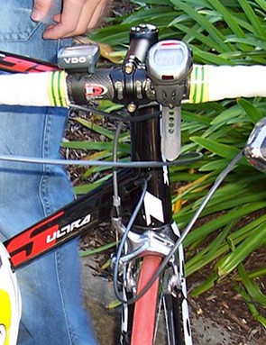 Ben Kersten's bike was one of many that were damaged