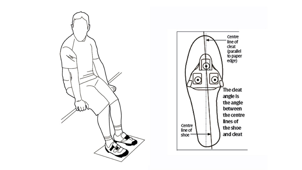 A piece of paper can help you dial in the angle of your cleats perfectly