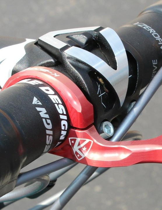 Use for electrical tape #7: Perhaps the most common use of all, finishing off handlebar wrap jobs