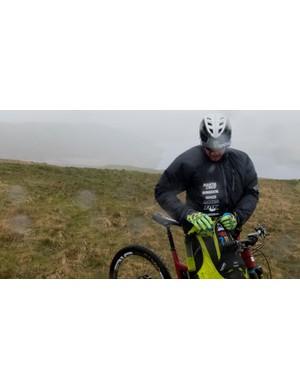 Downhill racing legend Steve Peat is a ambassador for USWE