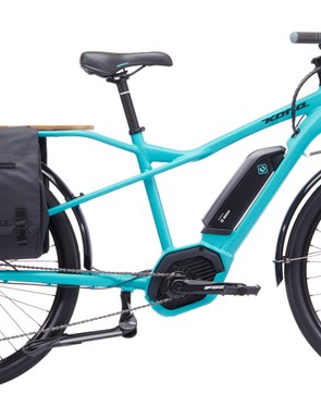 The Kona Electric Ute is a cargo bike with a built-in helper