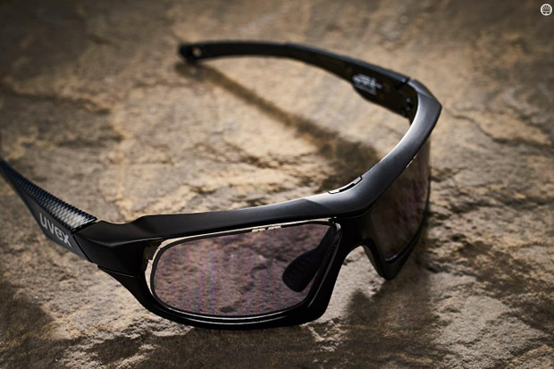 The glasses can automatically adjust the level of lens tint — from 16 to 64 percent — using a built-in light sensor