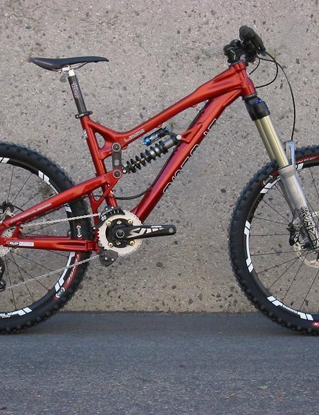 Intense Uzzi with Rock Shox Totem forks