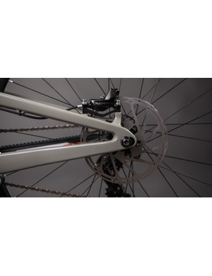 Lengthening the chainstays also adjusts the bike's geometry