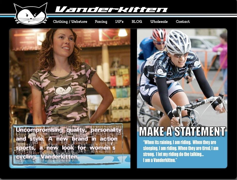 Vanderkitten Racing will be sponsored by Storck Bicycle in 2009.