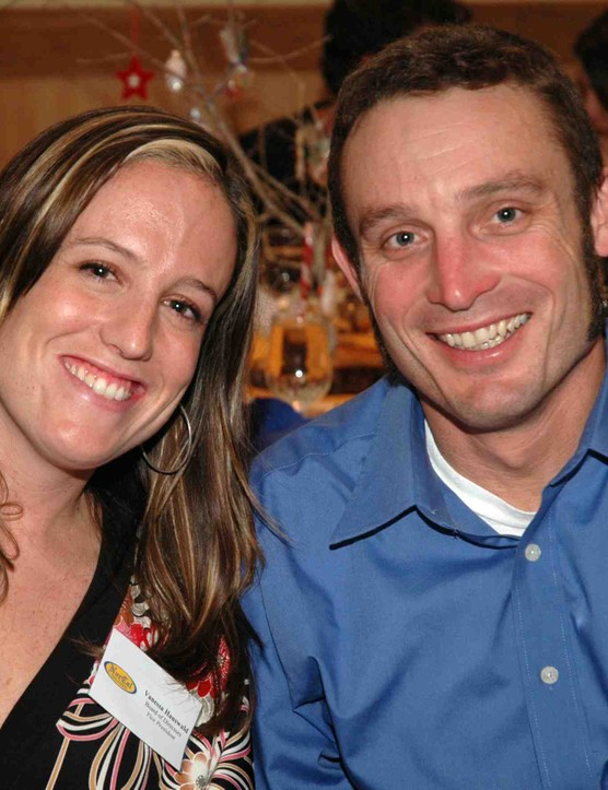 Board President, Vanessa Hauswald, with husband Yuri.