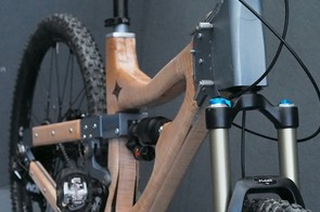 Peter Charnaud is no stranger to making bikes from wood