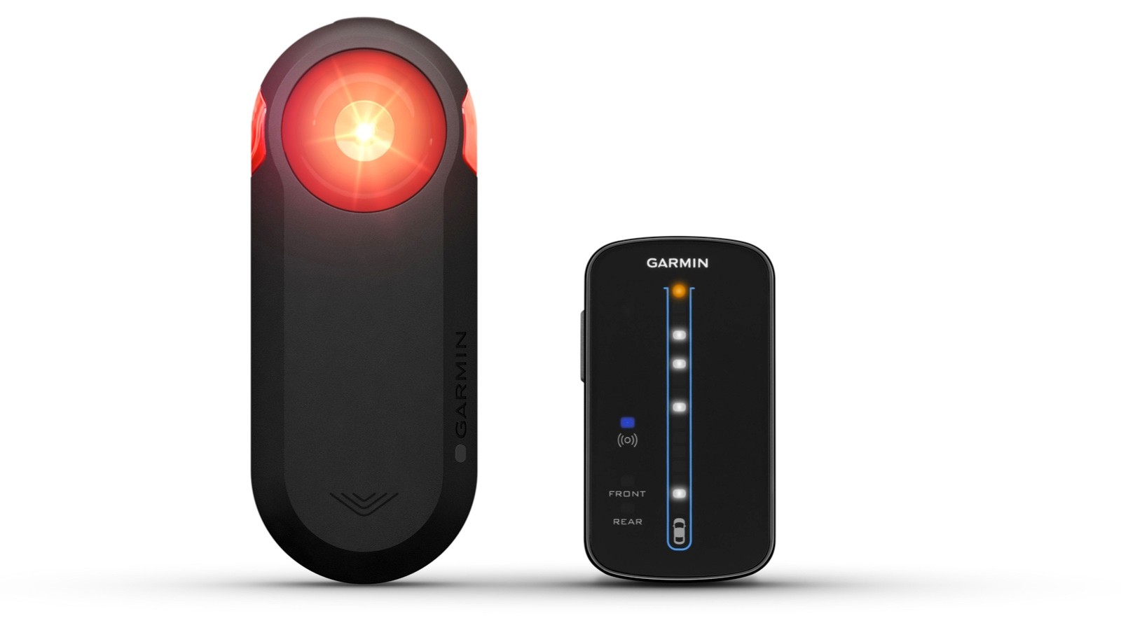 The Garmin Varia RTL510 alerts riders to vehicles approaching from behind, and doubles as a tail light