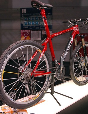 There is a plethora of Euro-style carbon hardtails here  and this one from Vario is a typical example with its integrated seatpost.