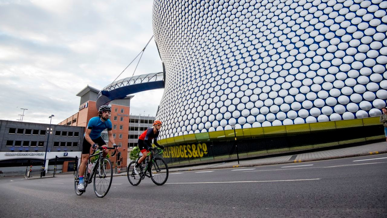 The Vélo Birmingham route has been confirmed