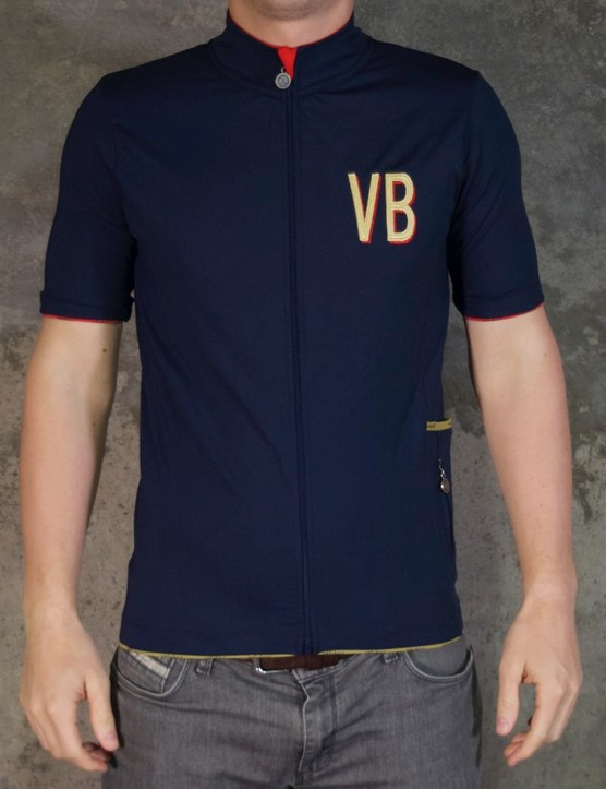 Vélobici's Continental jersey: actually made in Leicester