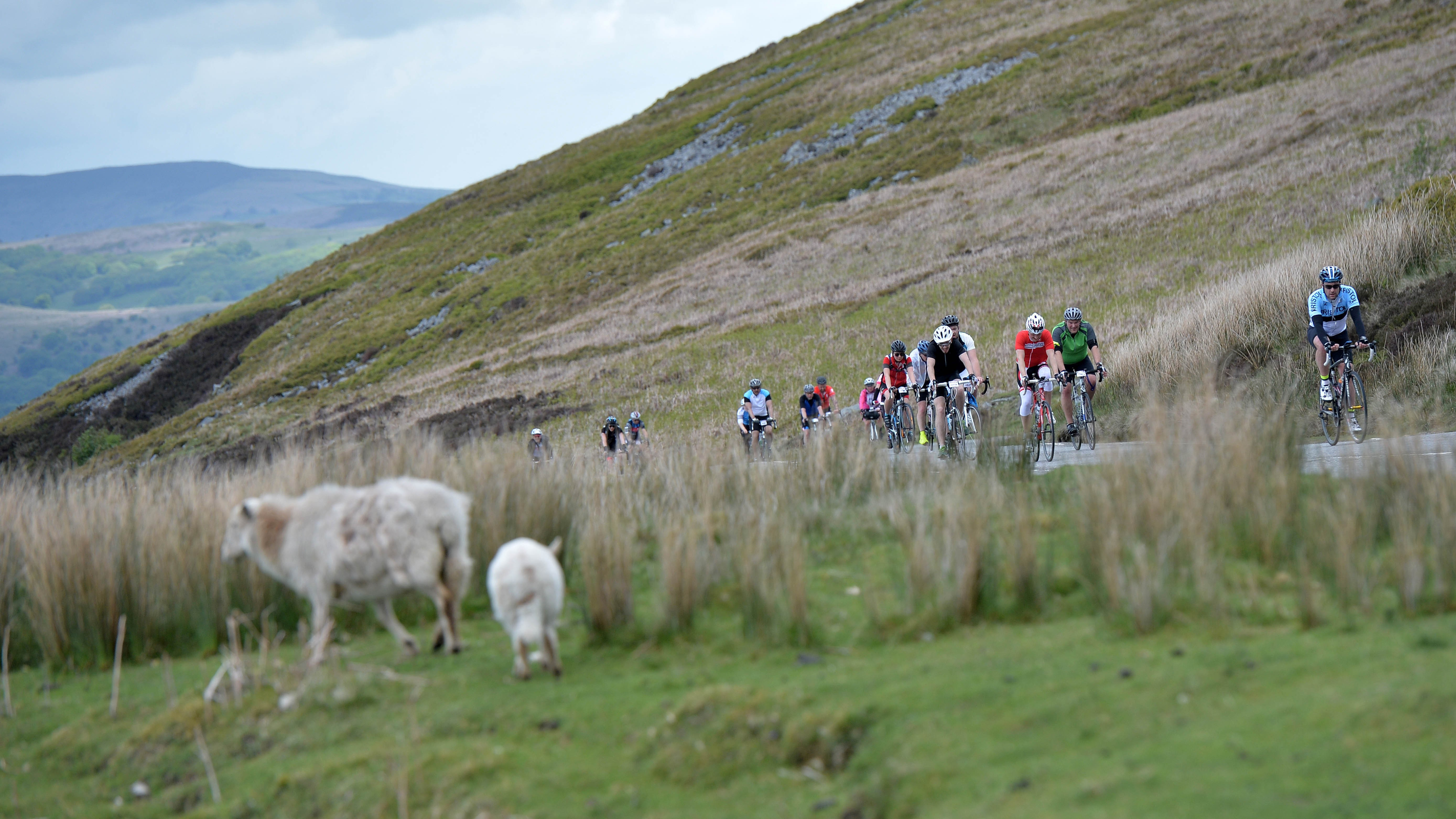 The fully closed routes will take you through some of the most stunning scenery in south Wales
