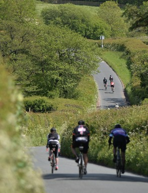 There are two routes on offer, 110km and 140km