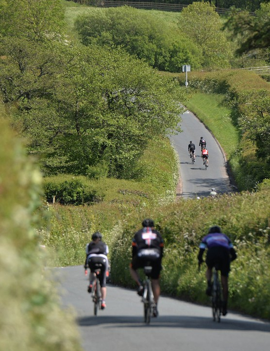 Velothon Wales has two routes: the full 140km or a slightly shorter 110km