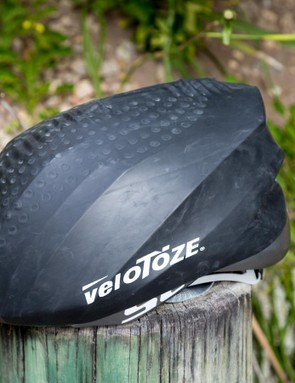 VeloToze has expanded its line of waterproof latex kit to include head gear
