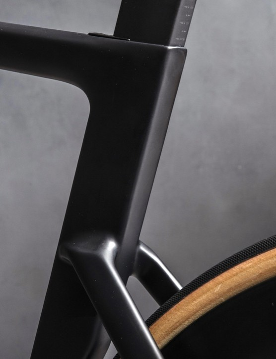 Specialized engineers worked with a library of tube shapes, each optimized for aero and stiffness characteristics, to form the 2019 Venge