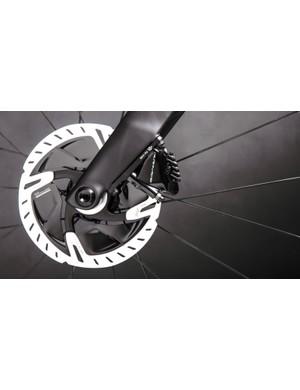 Shimano R9170 calipers and rotors