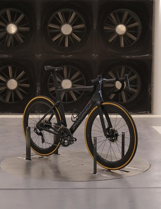 The new Venge inside Specialized's