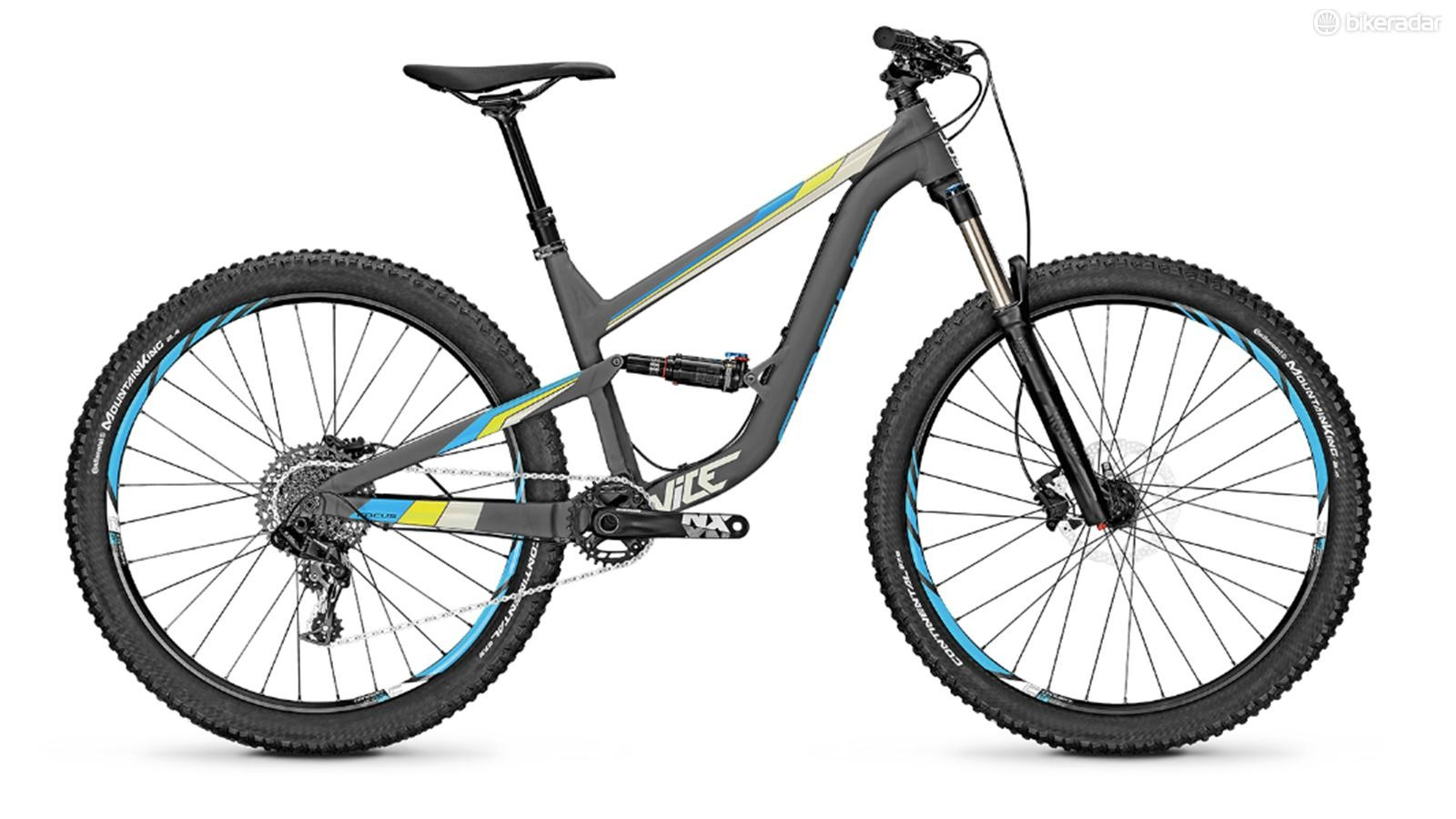 The Focus Vice is intended to be a gateway drug to the world of mountain biking