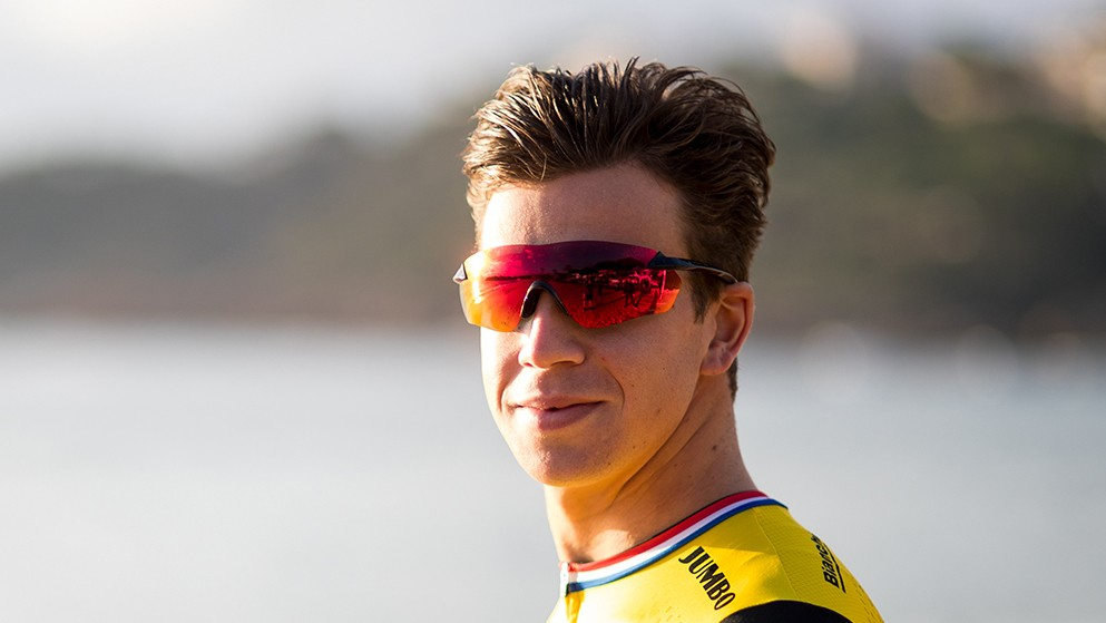 The glasses were first spotted in the LottoNL-Jumbo 2018 kit launch