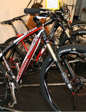 Viner mountain bikes: breaking out of Europe in 2009