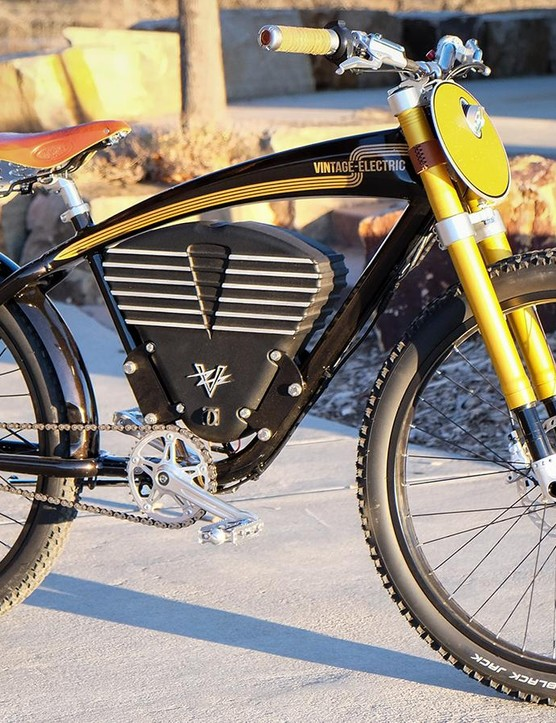 Vintage Electric's Scrambler is not your basic e-bike