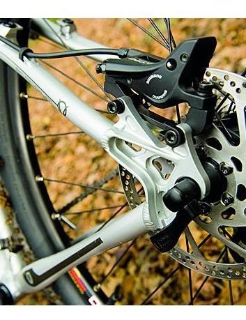 Shimano Deore Dual Control disc brakes