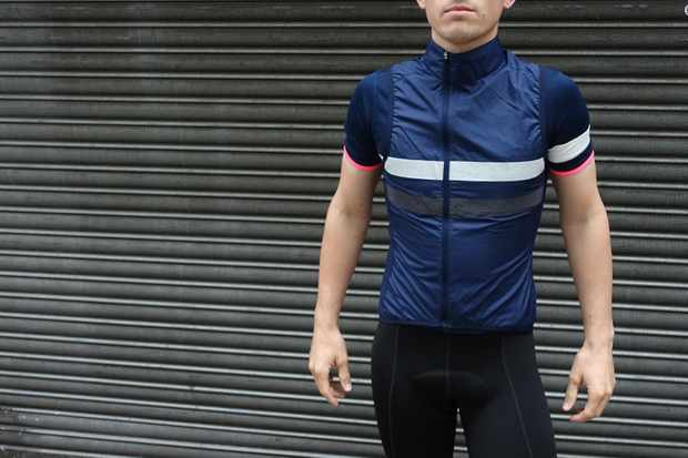 Rapha's Brevet jersey, gilet and bibshorts