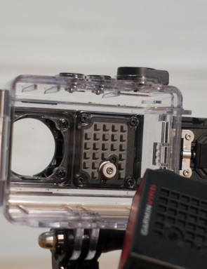 From here you can clearly see the audio waffle that keeps things sounding clear, and – we think – may act as a heat sink