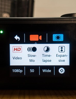 The user interface is among the best we've seen on an action camera