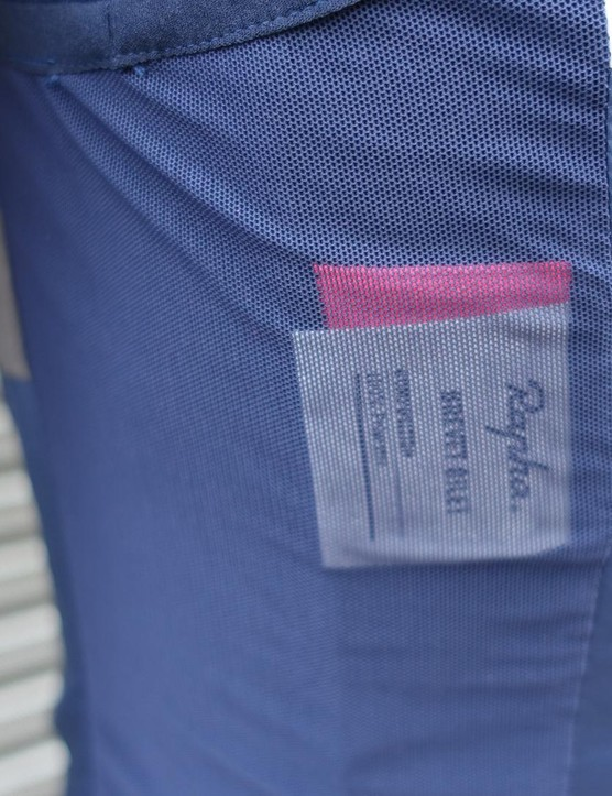 The side panelling of the gilet is also a breathable mesh