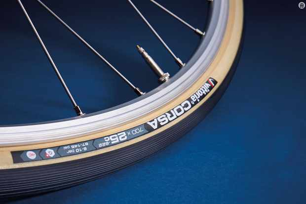 Vittoria's Corsa G+ is one of the best road tyres we've tested