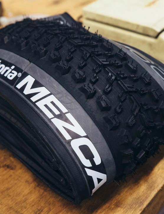 Vittoria Mezcal G+ tyres contain graphene, not tequila
