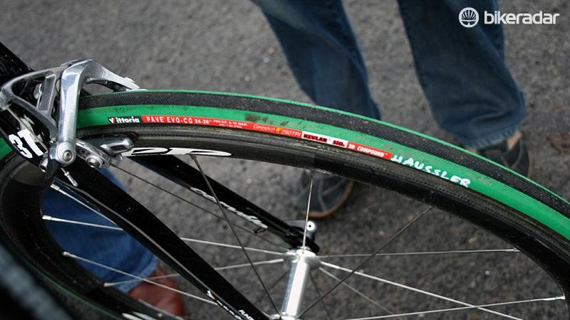 Green tyres and cobbles go together like chamois and taints