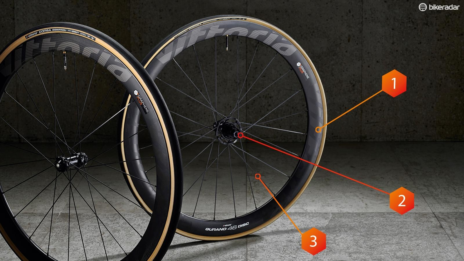 92bf9469c3c These Qurano 46 wheels are the latest addition to the graphene-infused range