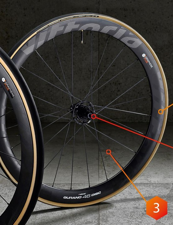 These Qurano 46 wheels are the latest addition to the graphene-infused range