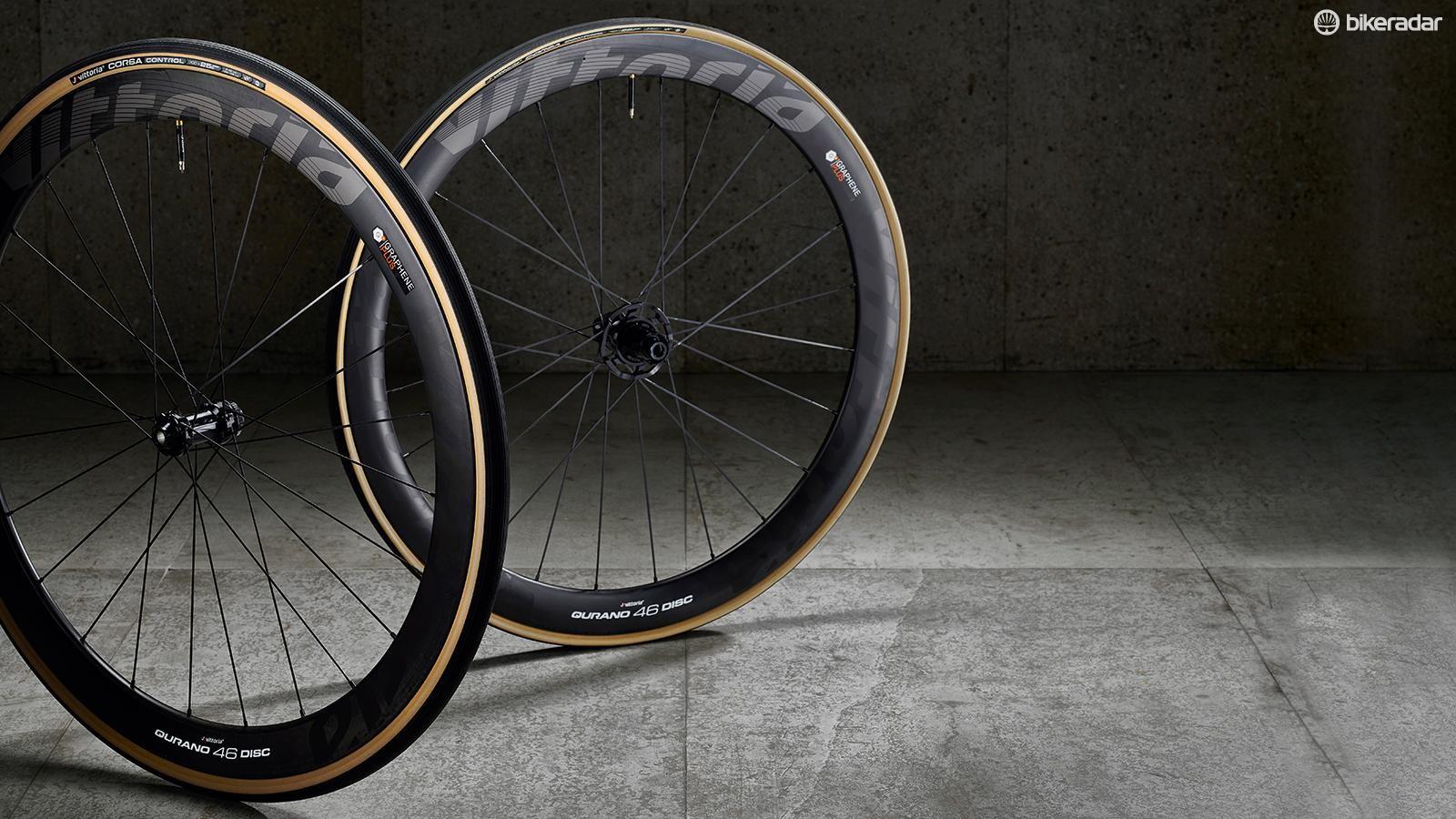 Vittoria Qurano 46 Disc Graphene-infused racing disc wheels