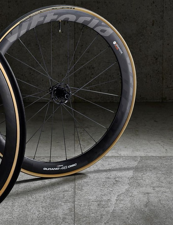 Vittoria Qurano 46 disc wheels