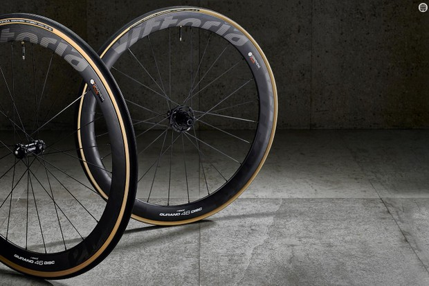 Vittoria Qurano 46 Disc Graphene-infused racing disc wheels