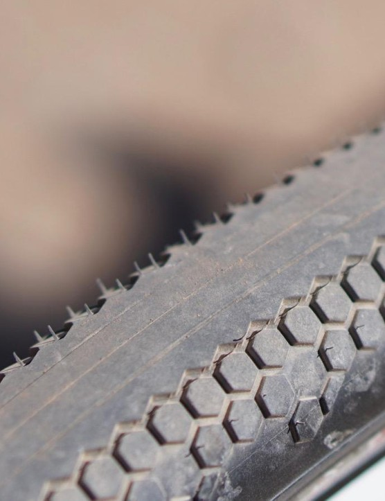 The 'Zero' is for zero tread on the center of the tire